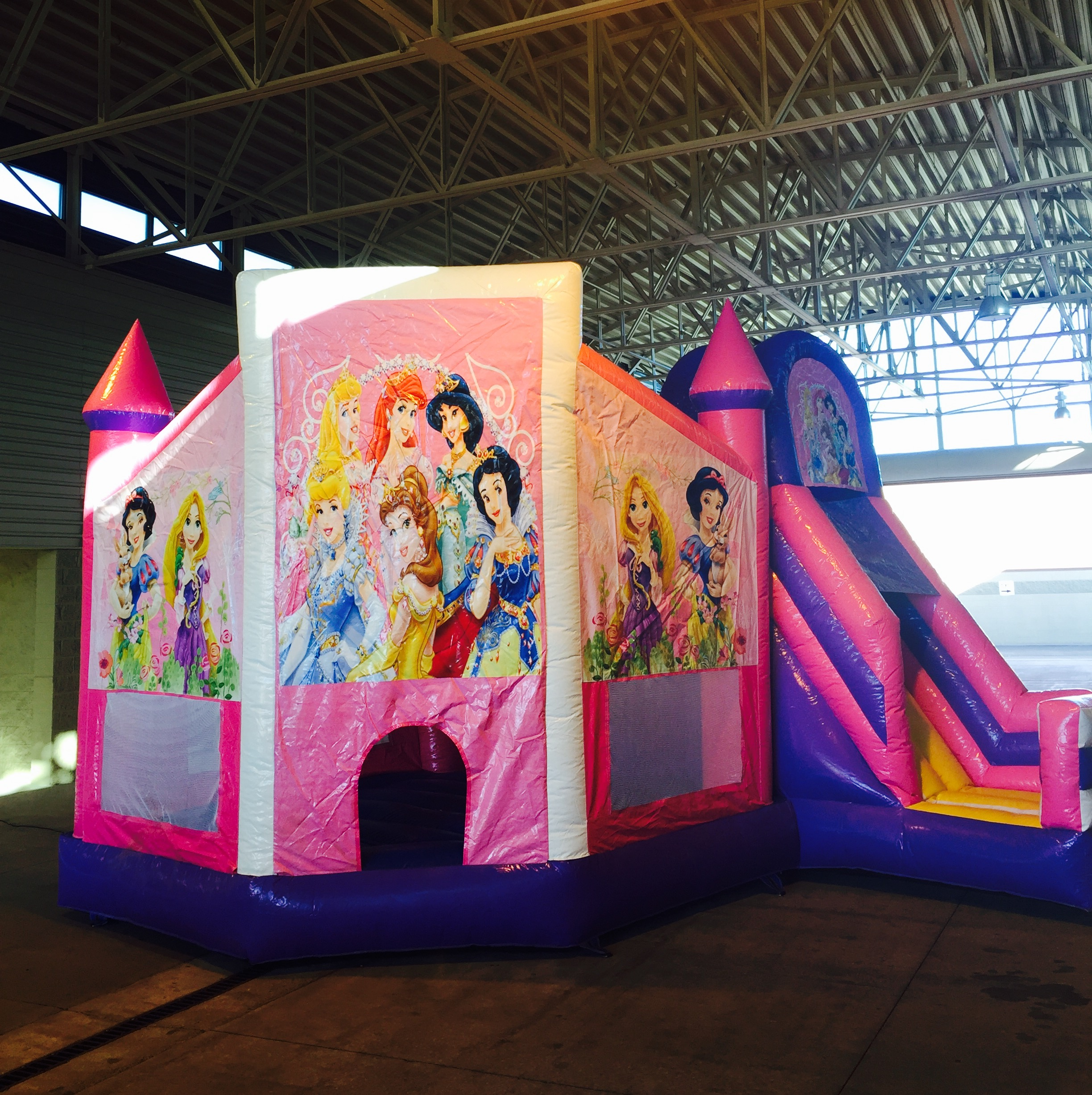 Bounce House Combos With Slides Inflatable Bounce House