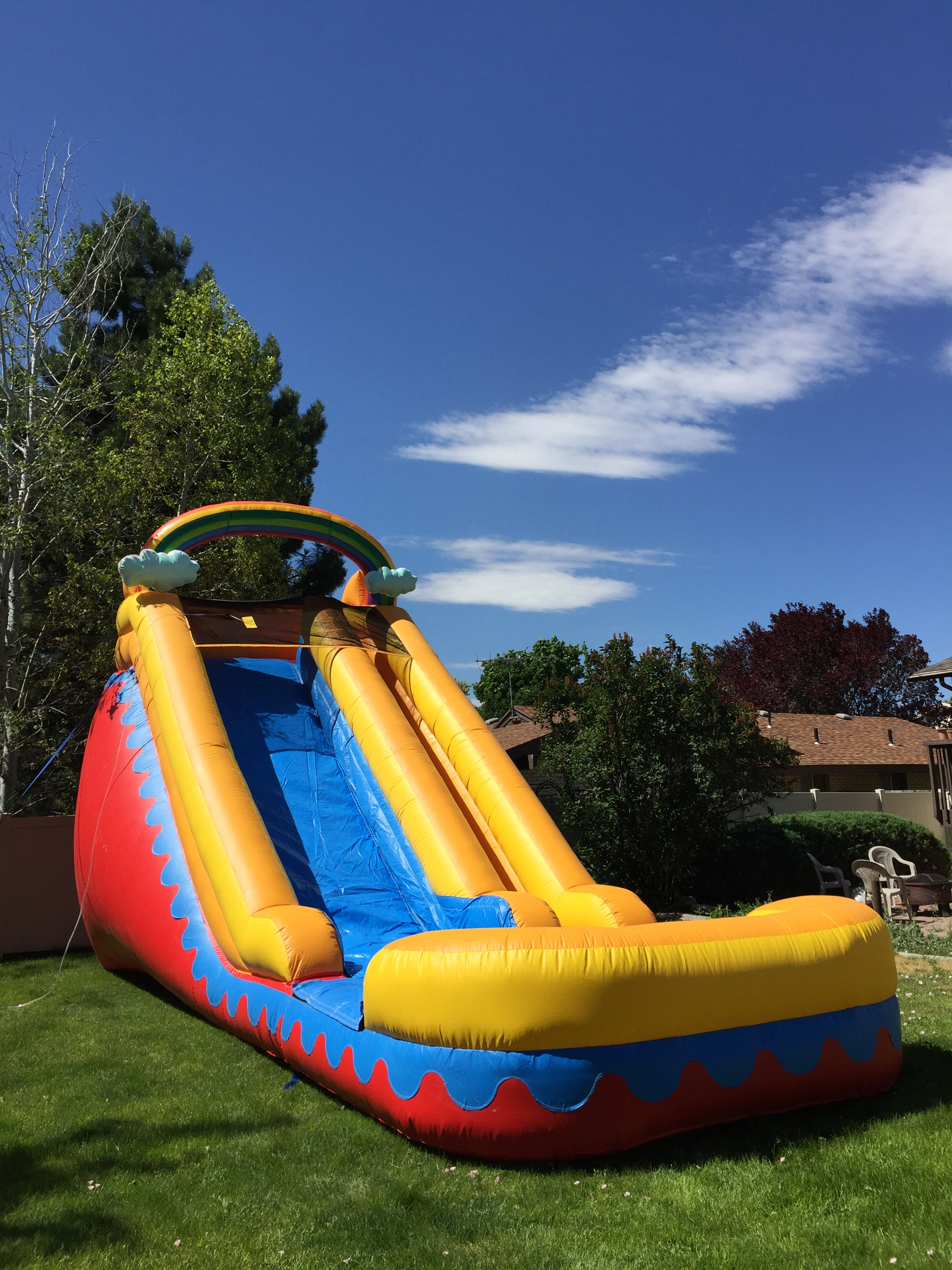 Inflatable Bounce House Water Slide Rentals Utah Bounce House Combo Slide Rental Utah Waterslide Water Slide Inflatable Huge Salt Lake City West Valley City Tooele Stansbury Park Grantsville Draper Herriman Bountiful
